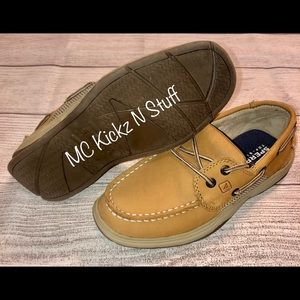 Pre Owned Kids Sperry Intrepid Boat Shoe size 2